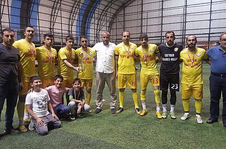 TATSO futbol takımımız fuar turnuvasında ikinci oldu