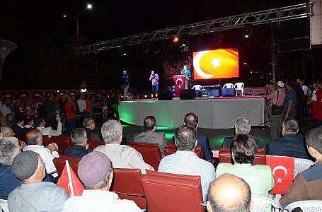 """İlçemizde """"15 Temmuz Demokrasi ve Milli Birlik Günü"""" programı düzenlendi"""